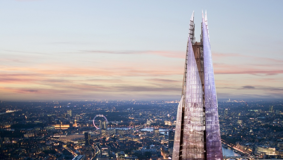 Hop on Hop off London Bus Tour (48 hr) + The View from the Shard  - The Shard spire, photo courtesy of Sellar Property Group