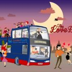 The Love Bus Valentine's Romantic Night Tour in London